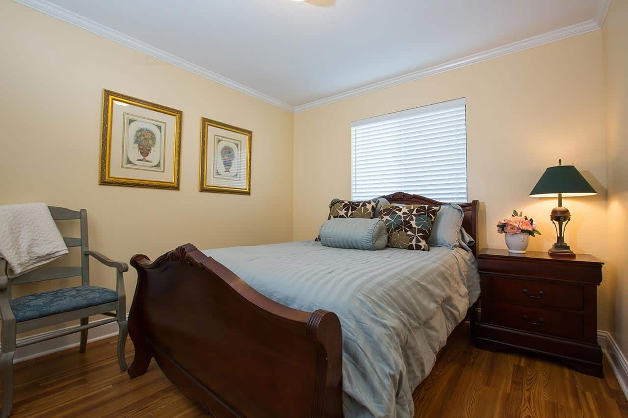 An interior shot of one of the rooms at Stiles Apartments at the Glen.
